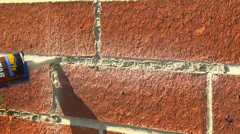 Repairing Fireplace Mortar by How To Tuck Point Mortar Joints With Quikrete Mortar