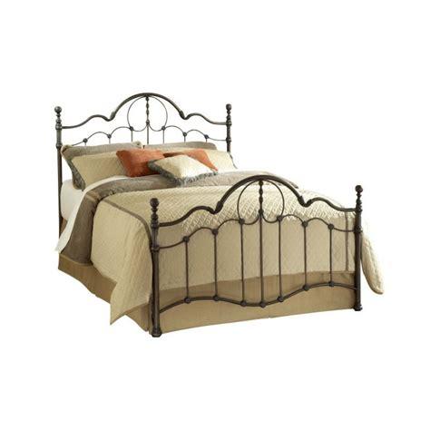 bronze metal bed hillsdale venetian metal bed in old bronze finish 1480bxr