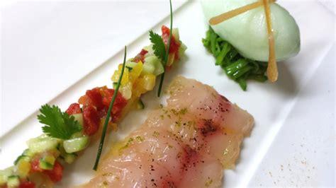 cuisiner rouget la recette de la semaine sashimi de rouget au citron