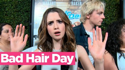 bad hair days a 0993070922 laura marano and the bad hair day red carpet youtube