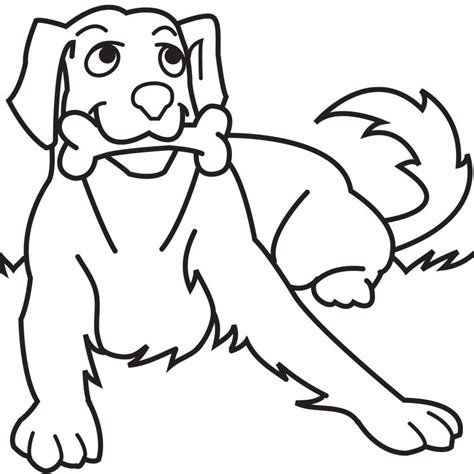 cartoon dog coloring page dog coloring book page coloring home