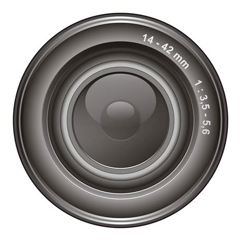 and lens vector for free use lens
