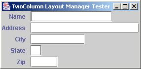 layout manager codename one views layout managers