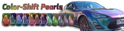 color shifting paint color shift pearls dna custom paints