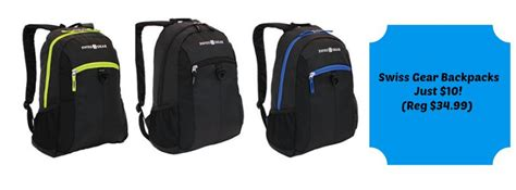Office Depot Backpack Coupons Swiss Gear Backpacks Just 10 At Officemax Office Depot