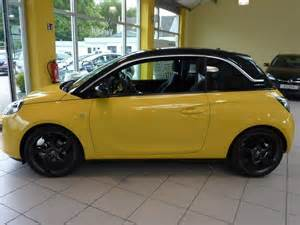 Opel Adam Yellow Opel Adam Gelb Edition 2013 1 4 Slam Yellow Gebrauchtwagen