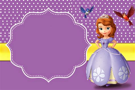 sofia the invitation template sofia the free printable invitations is it for