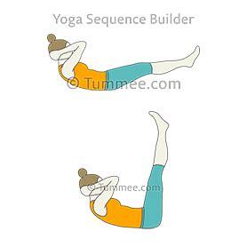 half boat pose sanskrit boat pose variation knees bent yoga navasana variation