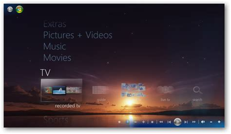 themes windows media center how to change windows 7 media center s look the tech