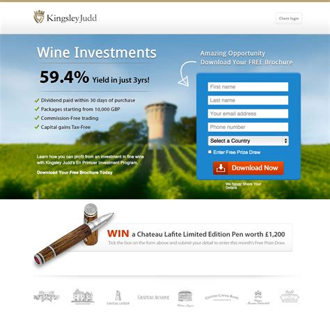 best landing page inspiring landing page exles designed using unbounce