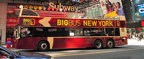 bid now buy new york big tour tickets for less showtickets