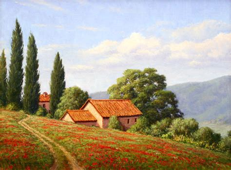 tuscany landscape painting google search tuscan mural