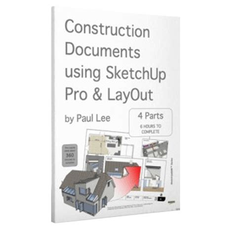 sketchup layout ebook sketchup training ebook paulthecad