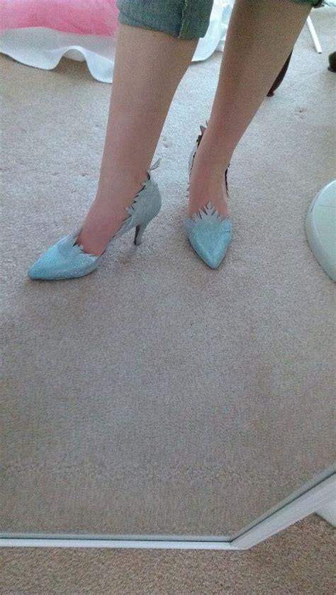 diy elsa shoes elsa from disney s frozen costume walkthrough part 3 the