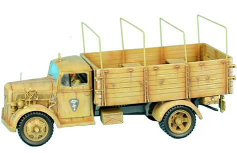 opel blitz cer dak011 das deutsche afrika korps opel blitz truck