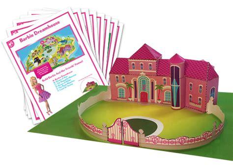 printable barbie house barbie dreamhouse constructible