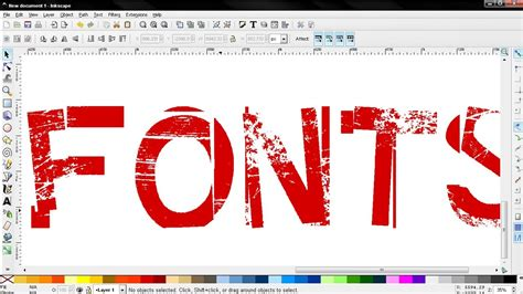 tutorial inkscape font get free fonts find install and use tips inkscape