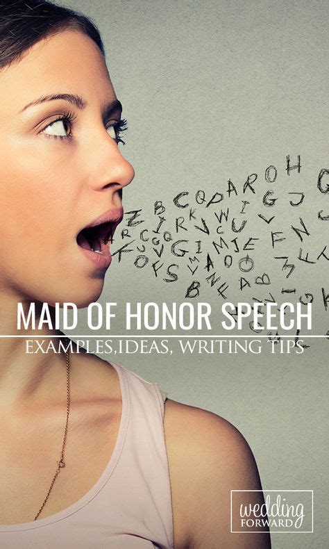8 Tips On Being A Of Honor by 25 Best Ideas About Of Honor Speech On