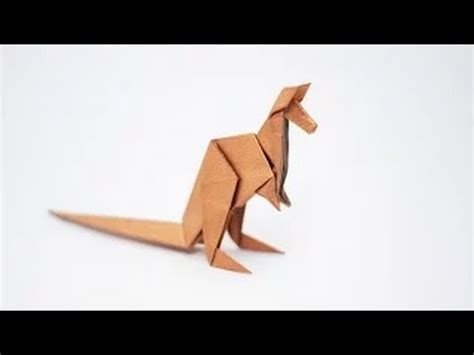 Origami Kangaroo Easy - origami animal how to fold an origami kangaroo step by