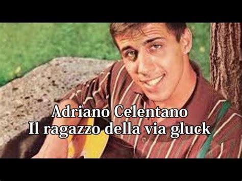 azzurro celentano testo azzuro adriano celentato with lyrics con lirica