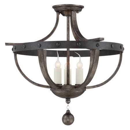 Savoy Lighting Fixtures Savoy House 6 9540 3 196 Alsace Semi Flush Mount Ceiling Light