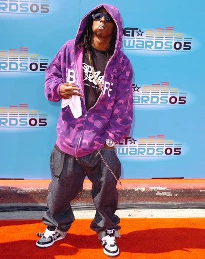 celebrity style evolution lil wayne photos gq