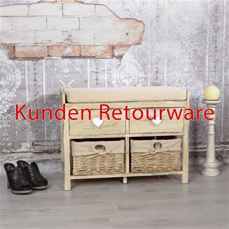 Sitzbank Flur Mit Körben by Schuhschrank B Ware Bestseller Shop F 252 R M 246 Bel Und