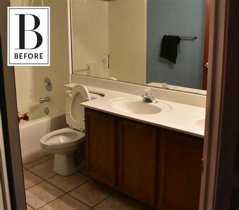 new bath credit before after 3 days 200 and a bold new bathroom look apartment therapy