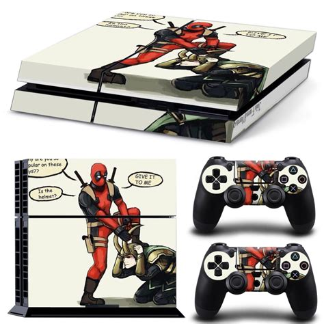 Ps4 Pool dead pool design sticker for playstation 4 for ps4 skin