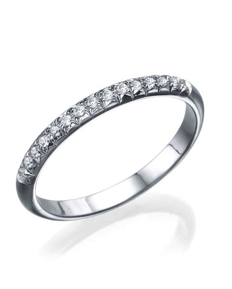 wedding rings white gold bands for white gold