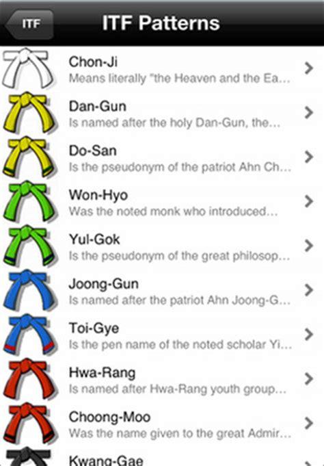 pattern for yellow belt in taekwondo tae kwon do forms google search running gear