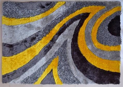 modern yellow modern shag area rug grey yellow 27