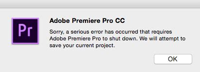 adobe premiere pro keeps crashing 5 tips to optimize premiere pro for best performance