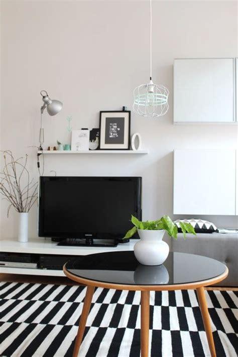 black white tags schwarz ikea wohnzimmer wei 223 - Ikea White Teppich