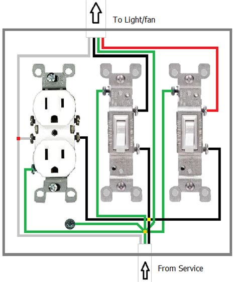 how to wire three switches in one box free