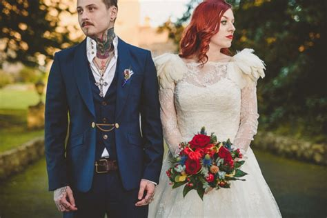 Cool Wedding Photos by Rustic Wintery And Freaking Cool Wedding 183 Rock N