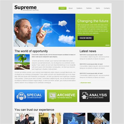 Professional And Converting Business Website Template Design Psd Purchase Website Templates