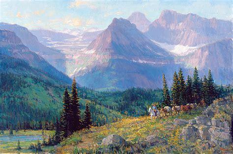 painting montana montana joe abbrescia western kalispell