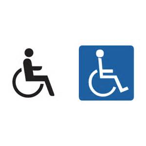 handicap sign vector handicap signs in eps cdr ai format