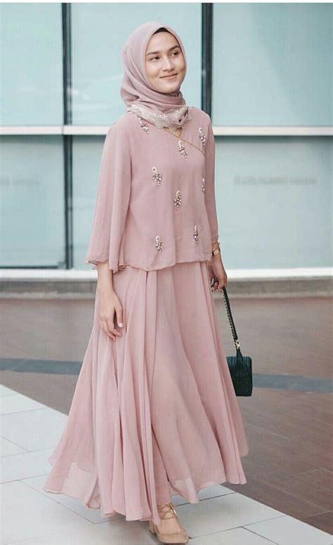 Baju Muslim Gaun Dress Baju Pesta 2095 pin by dwike samata on and fashion muslim kebaya and