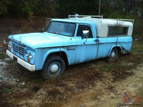 dodge truck finder 1964 dodge truck 3 4 ton one owner sweptline barn find