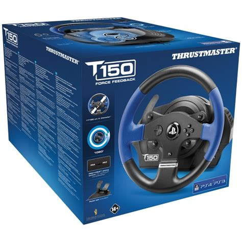 volante racing volante racing thrustmaster t150rs pc ps4 ps3 versus gamers