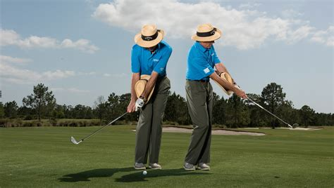 chipping golf swing get your chipping motion more consistent golf digest