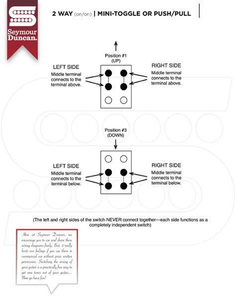 seymour duncan 2 humbucker 5 way switch wiring diagrams