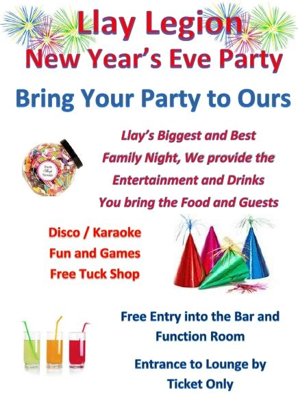 new year what to bring new years bring your to ours wrexham