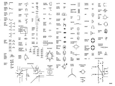 electrical components symbols pdf gallery symbol and sign