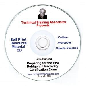 Section 608 Clean Air Act by Preparing For The Epa Refrigerant Recovery Certification