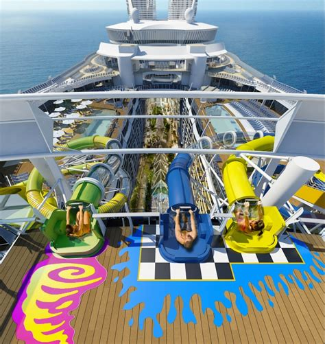 royal caribbean harmony of the seas royal caribbean will add a 10 story water slide to harmony