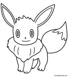 eevee coloring page pokemon