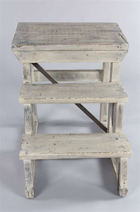 Painted Step Stools by Painted Step Stool At 1stdibs